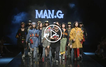 MAN.G 18 F/W GUANGZHOU FASHION WEEK